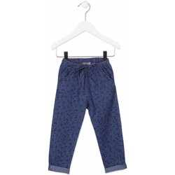 vaatteet Lapset Chino-housut / Porkkanahousut Losan 816-9010AD Sininen