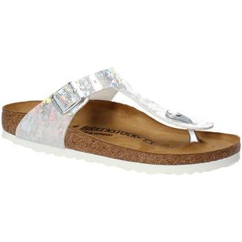kengät Lapset Varvassandaalit Birkenstock 1008093 Valkoinen