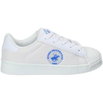 kengät Lapset Matalavartiset tennarit Beverly Hills Polo Club BH-2028 Valkoinen