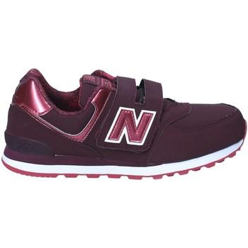 kengät Lapset Matalavartiset tennarit New Balance NBKV574F2Y Punainen