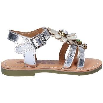 kengät Tytöt Sandaalit ja avokkaat Asso 55002 Harmaa