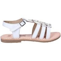 kengät Tytöt Sandaalit ja avokkaat Asso 65952 Valkoinen