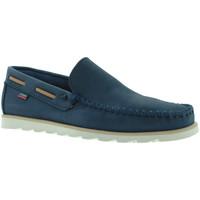 kengät Miehet Mokkasiinit CallagHan 15400 Sininen