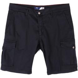 vaatteet Miehet Shortsit / Bermuda-shortsit Sei3sei PZV130 81408 Sininen