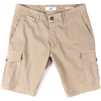vaatteet Miehet Shortsit / Bermuda-shortsit Sei3sei PZV130 8157 Beige