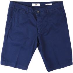 vaatteet Miehet Shortsit / Bermuda-shortsit Sei3sei PZV132 8136 Sininen