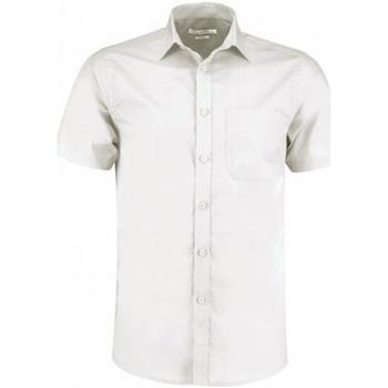 vaatteet Miehet Lyhythihainen paitapusero Kustom Kit KK141 White
