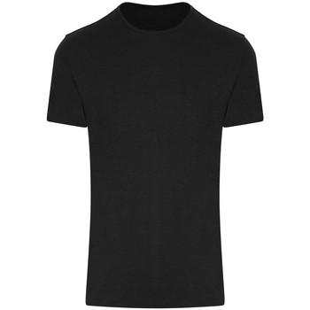 vaatteet Lyhythihainen t-paita Awdis JC110 Jet Black