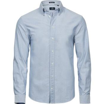 vaatteet Miehet Lyhythihainen paitapusero Tee Jays TJ4000 Light Blue