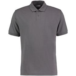 vaatteet Miehet Lyhythihainen poolopaita Kustom Kit KK422 Charcoal Grey