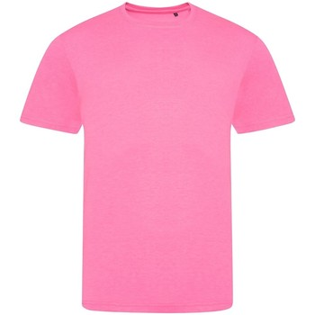 vaatteet Lyhythihainen t-paita Awdis JT004 Electric Pink