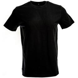 vaatteet Miehet Lyhythihainen t-paita Original Fnb FB1901 Black