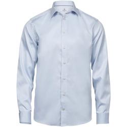 vaatteet Miehet Pitkähihainen paitapusero Tee Jays T4020 Light Blue