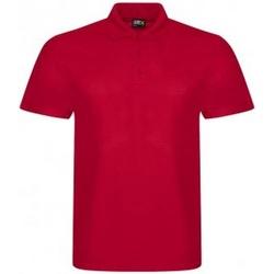 vaatteet Miehet Lyhythihainen poolopaita Prortx RX105 Red