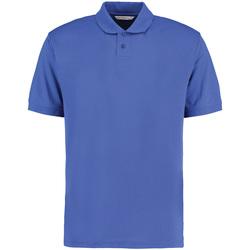 vaatteet Miehet Lyhythihainen poolopaita Kustom Kit KK422 Royal Blue