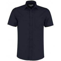 vaatteet Miehet Lyhythihainen paitapusero Kustom Kit KK141 Dark Navy