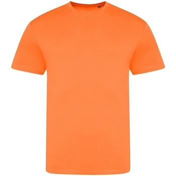 vaatteet Lyhythihainen t-paita Awdis JT004 Electric Orange