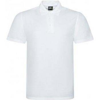 vaatteet Miehet Lyhythihainen poolopaita Prortx RX105 White