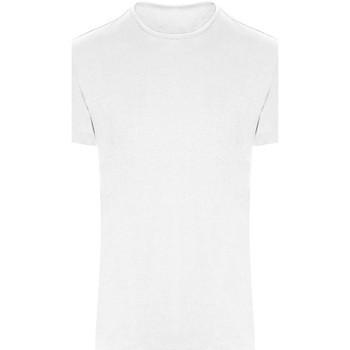 vaatteet Lyhythihainen t-paita Awdis JC110 Arctic White