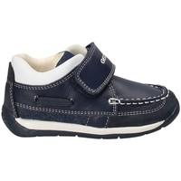 kengät Pojat Mokkasiinit Geox B720BC 08513 Sininen