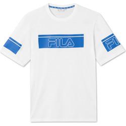 vaatteet Miehet Lyhythihainen t-paita Fila 683085 Valkoinen