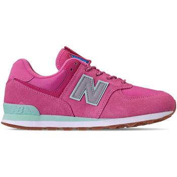 kengät Tytöt Matalavartiset tennarit New Balance NBGC574PAF Vaaleanpunainen