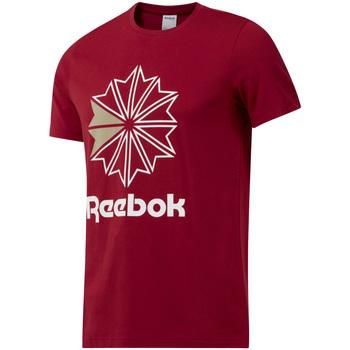 vaatteet Miehet Lyhythihainen t-paita Reebok Sport DH2096 Punainen