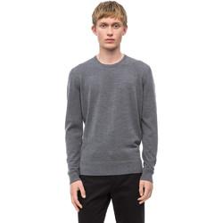 vaatteet Miehet Neulepusero Calvin Klein Jeans K10K102727 Harmaa