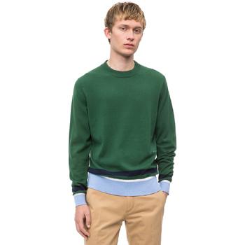 vaatteet Miehet Neulepusero Calvin Klein Jeans K10K102728 Vihreä