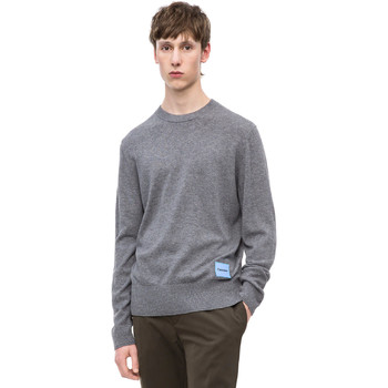 vaatteet Miehet Neulepusero Calvin Klein Jeans K10K102739 Harmaa