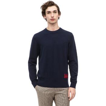 vaatteet Miehet Neulepusero Calvin Klein Jeans K10K102739 Sininen