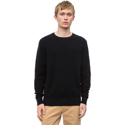 vaatteet Miehet Neulepusero Calvin Klein Jeans K10K102753 Musta