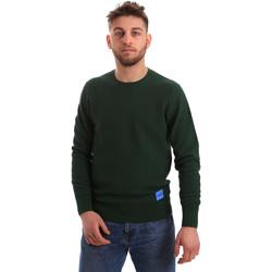vaatteet Miehet Neulepusero Calvin Klein Jeans K10K102753 Vihreä