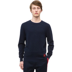 vaatteet Miehet Neulepusero Calvin Klein Jeans K10K102753 Sininen