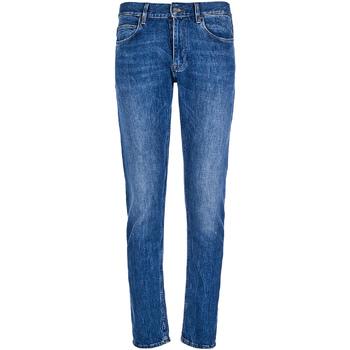 vaatteet Miehet Slim-farkut Calvin Klein Jeans K10K102940 Sininen