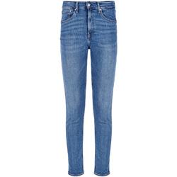 vaatteet Miehet Slim-farkut Calvin Klein Jeans J30J308032 Sininen