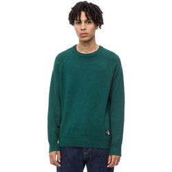vaatteet Miehet Neulepusero Calvin Klein Jeans J30J309563 Vihreä
