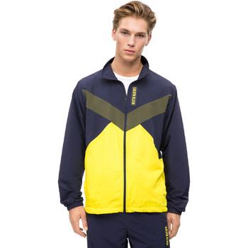 vaatteet Miehet Ulkoilutakki Calvin Klein Jeans 00GMF8O518 Sininen