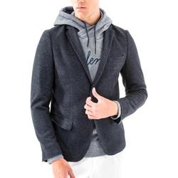 vaatteet Miehet Takit / Bleiserit Antony Morato MMJA00368 FA100171 Sininen