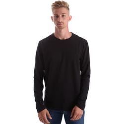 vaatteet Miehet T-paidat pitkillä hihoilla Gas 300187 Musta