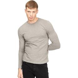 vaatteet Miehet T-paidat pitkillä hihoilla Gas 300187 Harmaa