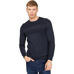 vaatteet Miehet Neulepusero Gas 561990 Sininen