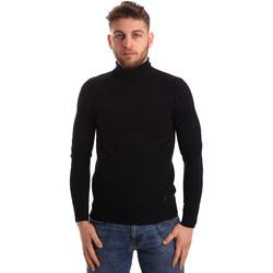 vaatteet Miehet Neulepusero Gaudi 821BU53016 Sininen