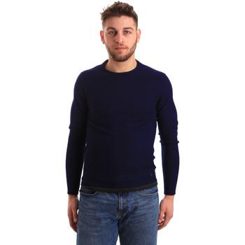 vaatteet Miehet Neulepusero Gaudi 821BU53043 Sininen
