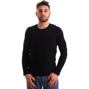 vaatteet Miehet Neulepusero Gaudi 821FU53016 Sininen