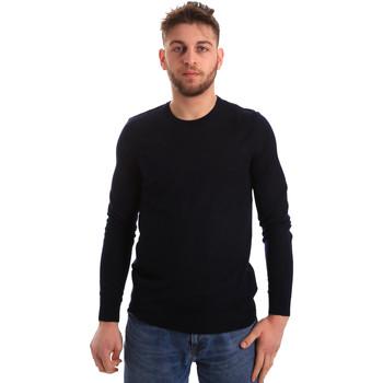 vaatteet Miehet Neulepusero Gaudi 821FU53080 Sininen
