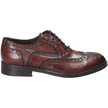 kengät Miehet Derby-kengät Exton 5358 Ruskea