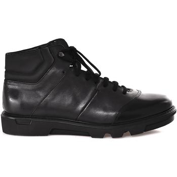 kengät Miehet Korkeavartiset tennarit Soldini 20645 3 Musta