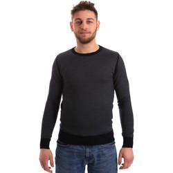 vaatteet Miehet Neulepusero Bradano 166 Sininen