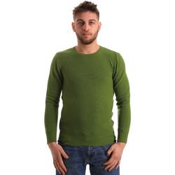 vaatteet Miehet Neulepusero Bradano 172 Vihreä